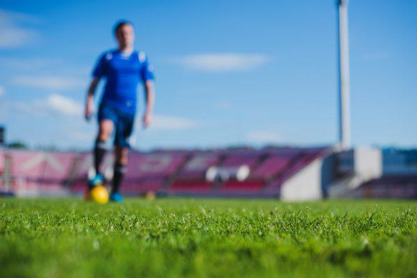 voetbalquiz tijdens trainingskamp